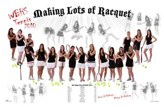 Tennis Poster WBHS